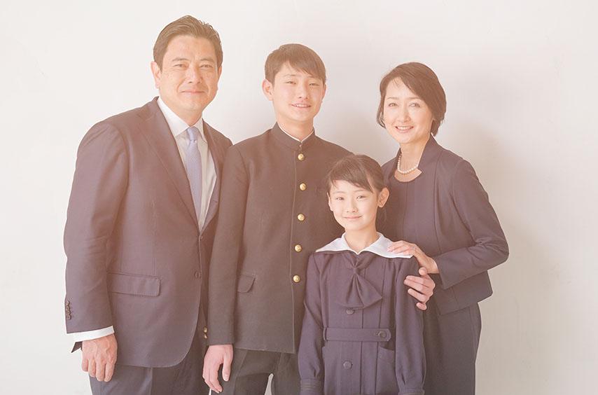 提出用家族写真